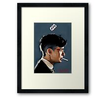 Peaky Blinders - clean background Framed Print