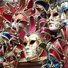 Venetian Masks by Fay  Hughes