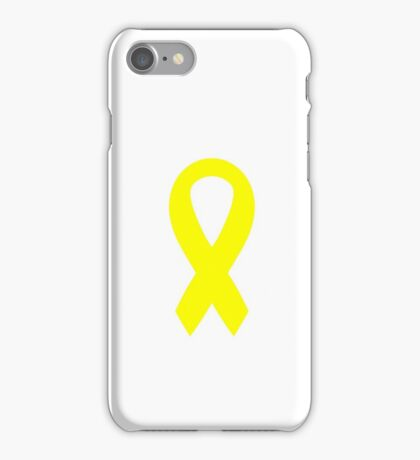 Support the Troops Ribbon iPhone Case/Skin