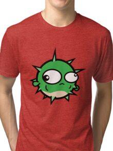 Spokes the Puffer Fish Tri-blend T-Shirt