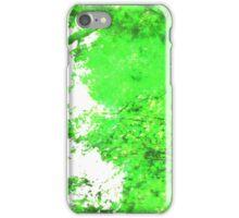 Green Blur iPhone Case/Skin