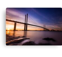 Queen Elizabeth II Bridge Canvas Print