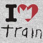 Train - I Love Train - Crown Heart by ILoveTrain