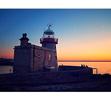 Howth Lighthouse Photographic Print