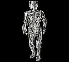 Cyberman - Embossed by Marjuned