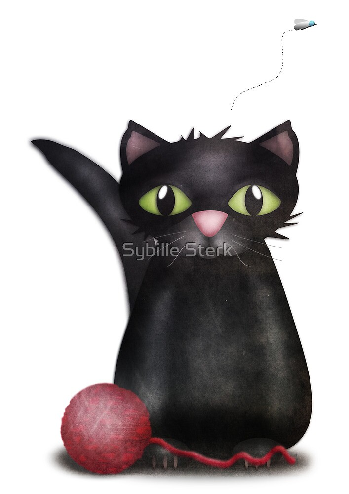 Kitty and the Fly by Sybille Sterk