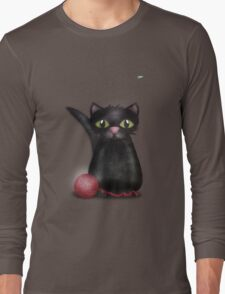 Kitty and the Fly Long Sleeve T-Shirt