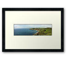 Lands End, Great Britain, HDR Framed Print