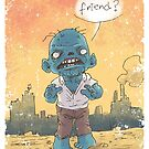 Friendly Zombie by andresMvalle