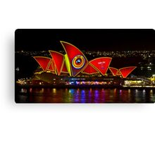 Play The Game - Sydney Vivid Festival - Sydney Opera House Canvas Print