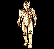 Cyberman (Gold) by Marjuned