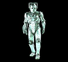 Cyberman (Turquoise) by Marjuned