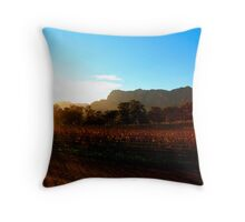 First morning light Throw Pillow