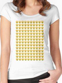 RICH EMOJI Women's Fitted Scoop T-Shirt