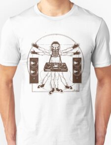 VITRUVIAN ALIEN DJ T-SHIRT #02 T-Shirt