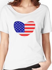 Love America Women's Relaxed Fit T-Shirt