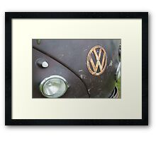 camper going ratty Framed Print