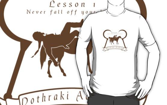 Dothraki Academy GOT T Shirt by Fangpunk