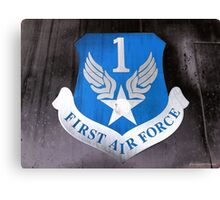 First Air Force Crest  Canvas Print