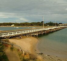 Joe Mortelliti Gallery - Barwon Heads Bridge, linking Barwon Heads and Ocean Grove, Bellarine Peninsula, Victoria,  by thisisaustralia
