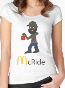 McRide Women's Fitted Scoop T-Shirt