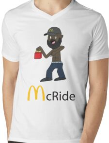 McRide Mens V-Neck T-Shirt