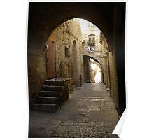 Jerusalem Archways Poster