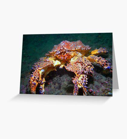 Puget Sound King Crab  Greeting Card