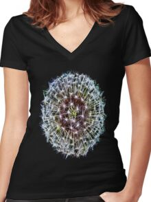 The Big Bang Women's Fitted V-Neck T-Shirt