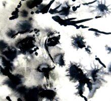 dandelion meadow Sticker