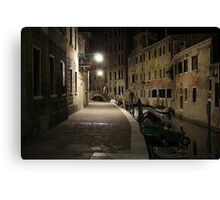 Venice Calle Canvas Print