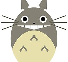 Minimalist Totoro by Oskar Strom