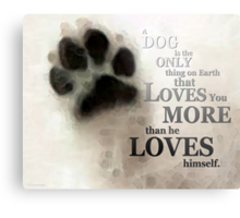 True Love - By Sharon Cummings Words by Billings Metal Print