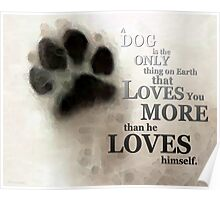 True Love - By Sharon Cummings Words by Billings Poster
