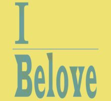 I Belove - Turquoise and Gold Kids Clothes