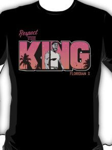 """VICTRS """"Respect The King""""  T-Shirt"""