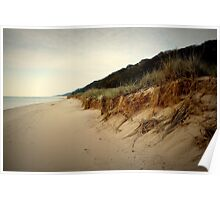 Lake Michigan Shoreline Poster