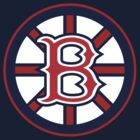 Boston BruSox - Boston Bruins Boston Red Sox MASHUP (Sox Colors) by xnmex