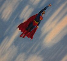 Superman - Flight by DGsCanvas