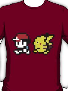 8-Bit Pikachu & Ash T-Shirt
