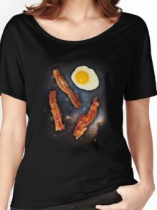 Three Bacon Egg Women's Relaxed Fit T-Shirt