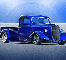 1935 Ford Pick-Up Truck .... Cincinatti Blues by DaveKoontz