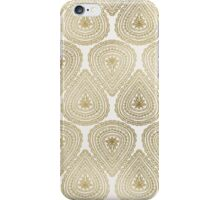 Gold Foil Indian Ornament Pattern iPhone Case/Skin