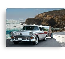1956 Chevrolet Nomad - Summer Vacation Canvas Print