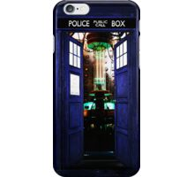 InsideTardis Doctor Who in Space  iPhone Case/Skin