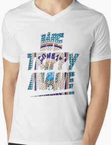 We Trippy Mane Mens V-Neck T-Shirt
