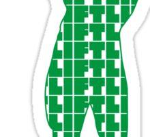 Arnold - Lift Green (variation 2) Sticker