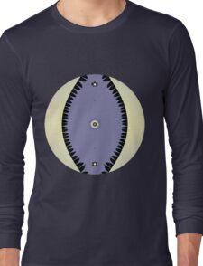 Purple Leaf Long Sleeve T-Shirt