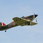 Hawker Hurricane P3886 by Nigel Bangert