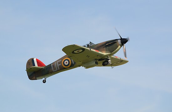 Hawker Hurricane P3886 by Nigel Bangert